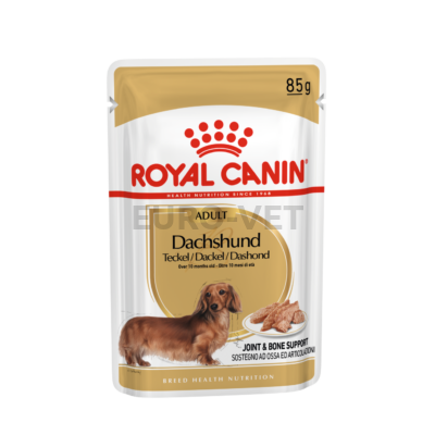ROYAL CANIN DACHSHUND ADULT - Tacskó felnőtt kutya nedves táp 0,085 kg