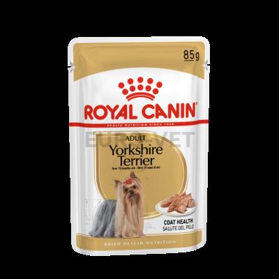 ROYAL CANIN YORKSHIRE TERRIER ADULT - Yorkshire Terrier felnőtt kutya nedves táp 0,085 kg