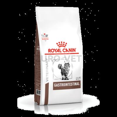 Royal Canin Gastro Intestinal - száraz gyógytáp felnőtt macskák részére emésztési problémák csökkentésére 4 kg