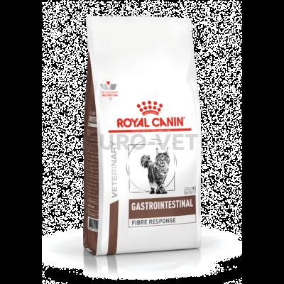 Royal Canin Gastrointestinal Fibre Feline - száraz gyógytáp felnőtt macskák részére a bélrendszer támogatására 0,4 kg