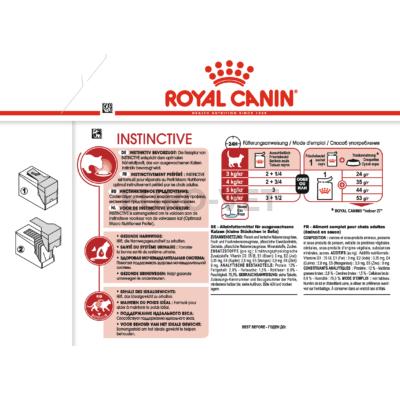 ROYAL CANIN INSTINCTIVE JELLY - felnőtt macska zselés nedves táp 0,085 kg
