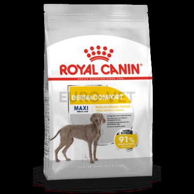 ROYAL CANIN MAXI DERMACOMFORT - száraz táp bőrirritációra hajlamos, nagytestű felnőtt kutyák részére 10 kg