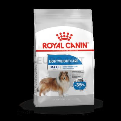 ROYAL CANIN MAXI LIGHT WERIGHT CARE - száraz táp hízásra hajlamos, nagytestű felnőtt kutyák részére 15 kg