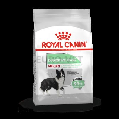 ROYAL CANIN MEDIUM DIGESTIVE CARE - száraz táp érzékeny emésztésű, közepes testű felnőtt kutyák részére 15 kg