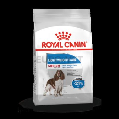 ROYAL CANIN MEDIUM LIGHT WEIGHT CARE - száraz táp hízásra hajlamos, közepes testű felnőtt kutyák részére 10 kg