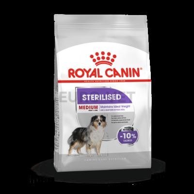 ROYAL CANIN MEDIUM STERILISED - száraz táp ivartalanított, közepes testű felnőtt kutyák részére 3 kg
