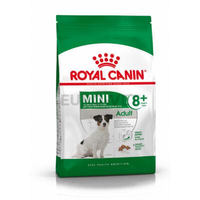 ROYAL CANIN MINI ADULT 8+ - kistestű idősödő kutya száraz táp 8 kg