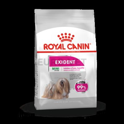 ROYAL CANIN MINI EXIGENT - száraz táp válogatós, kistestű felnőtt kutyák részére 3 kg