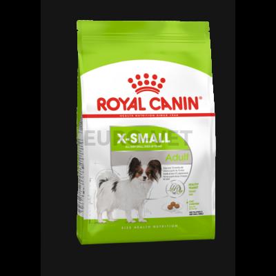 ROYAL CANIN X-SMALL ADULT - nagyon kistestű felnőtt kutya száraz táp 3 kg