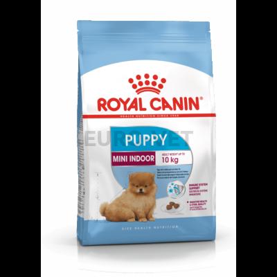 ROYAL CANIN MINI INDOOR PUPPY - lakásban tartott, kistestű kölyök kutya száraz táp 0,5 kg
