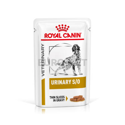 Royal Canin Urinary Gravy - Nedves, szószós gyógytáp felnőtt kutyák részére az alsó hugyúti problémák megelőzéséért 100 g