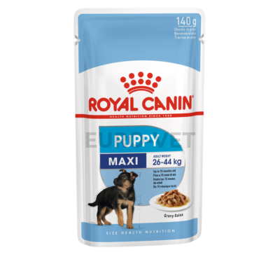 Royal canin wet maxi puppy - nedves táp nagytestű kölyökkutyák részére 0,14 kg