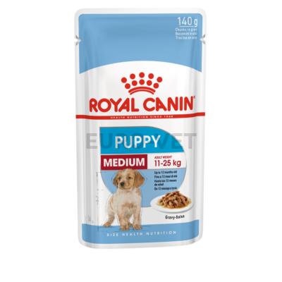 Royal canin wet medium puppy - nedves táp közepes testű kölyökkutyák részére 0,14 kg