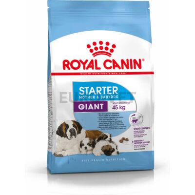 ROYAL CANIN GIANT STARTER MOTHER & BABYDOG - óriás testű kölyök és vemhes kutya száraz táp 15 kg