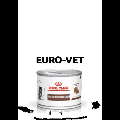 Royal Canin Gastro Intestinal Kitten- nedves gyógytáp kölyök macskák részére emésztési problémák esetén 0,195 kg