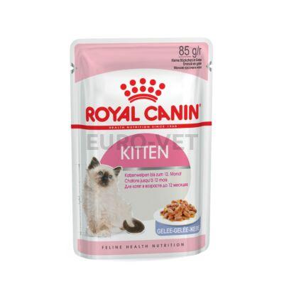 ROYAL CANIN KITTEN JELLY - kölyök macska zselés nedves táp 0,085 kg