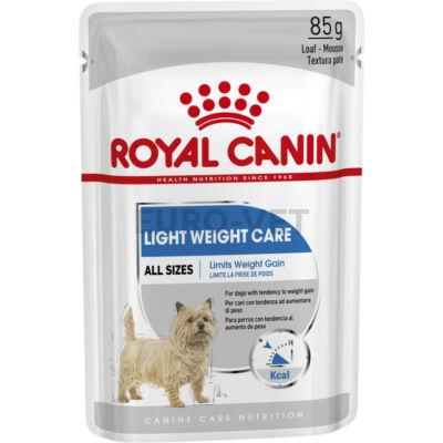 ROYAL CANIN LIGHT WEIGHT CARE - ALUTASAKOS ELEDEL HÍZÁSRA HAJLAMOS KUTYÁK RÉSZÉRE 0,085 kg