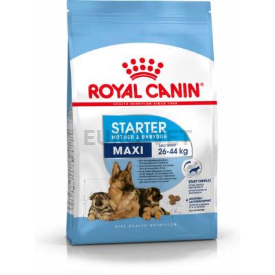 ROYAL CANIN MAXI STARTER -  nagy testű kölyök és vemhes kutya száraz táp 15 kg