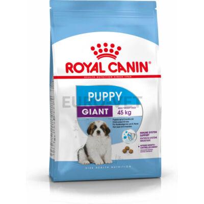 ROYAL CANIN GIANT PUPPY -  óriás testű kölyök kutya száraz táp 15 kg