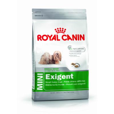 ROYAL CANIN MINI EXIGENT - száraz táp válogatós, kistestű felnőtt kutyák részére 2 kg