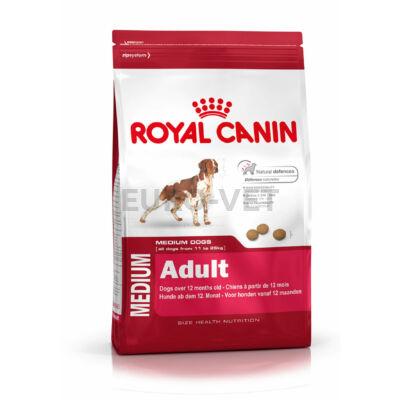 ROYAL CANIN MEDIUM ADULT - közepes testű felnőtt kutya száraz táp 15 kg