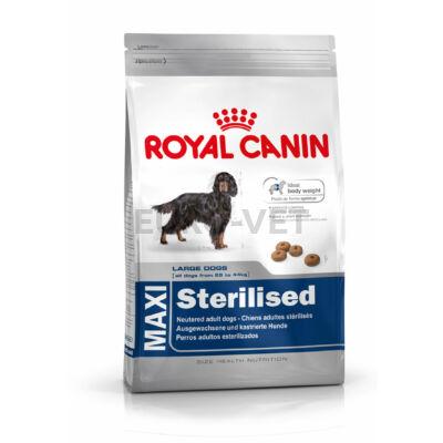 ROYAL CANIN MAXI STERILISED - száraz táp ivartalanított, nagytestű felnőtt kutyák részére 3 kg