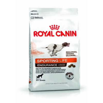 ROYAL CANIN SPORTING LIFE RANGE ENDURANCE 4800 - száraz táp sportoló felnőtt kutyák részére 15 kg