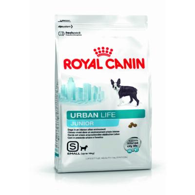 ROYAL CANIN URBAN LIFE JUNIOR - városban élő kistestű kölyök kutya száraz táp 1,5 kg