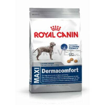 ROYAL CANIN MAXI DERMACOMFORT - száraz táp bőrirritációra hajlamos, nagytestű felnőtt kutyák részére 12 kg