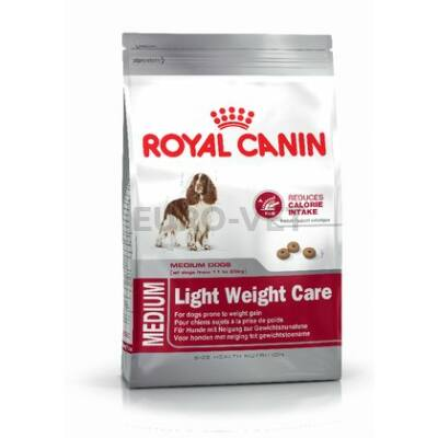 ROYAL CANIN MEDIUM LIGHT WERIGHT CARE - száraz táp hízásra hajlamos, közepes testű felnőtt kutyák részére 13 kg