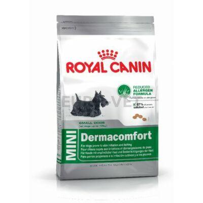 ROYAL CANIN MINI DERMACOMFORT - száraz táp bőrirritációra hajlamos, kistestű felnőtt kutyák részére 10 kg