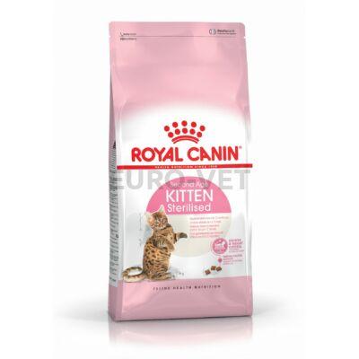 ROYAL CANIN KITTEN STERILISED - ivartalanított kölyök macska száraz táp 2 kg