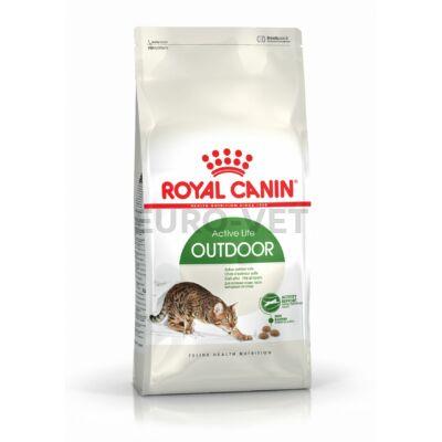 ROYAL CANIN OUTDOOR - szabadba gyakran kijáró, aktív felnőtt macska száraz táp 10 kg