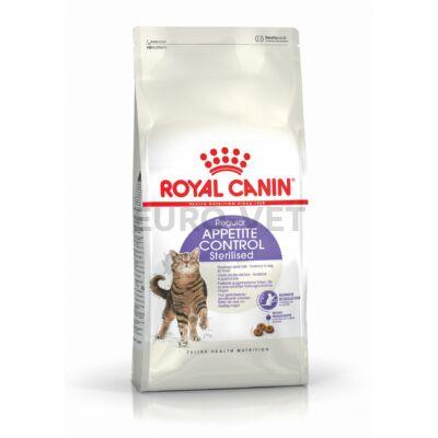 ROYAL CANIN STERILISED APPETITE CONTROLL - étvágyat kontrolláló ivartalanított felnőtt macska száraz táp 4 kg