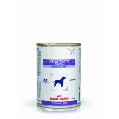 Royal Canin Sensitivity Control Duck & Rice - Konzerv 420 g