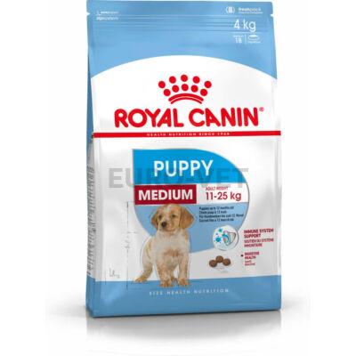 ROYAL CANIN MEDIUM PUPPY - közepes testű kölyök kutya száraz táp 15 kg