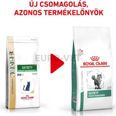 Royal Canin Satiety Weight Management - száraz gyógytáp felnőtt macskák részére túlsúly csökkentése érdekében 1,5 kg