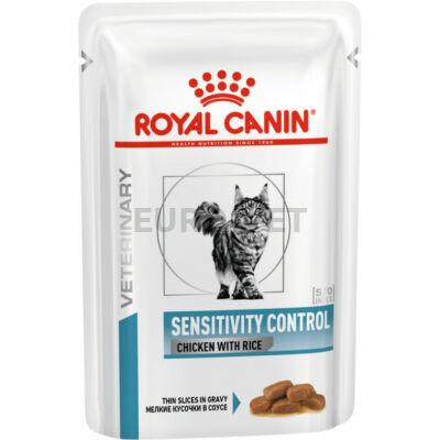 Royal Canin Sensitivity Control S/O Chicken - nedves gyógytáp felnőtt macskák részére tápanyag intolerancia esetén 0,085 kg