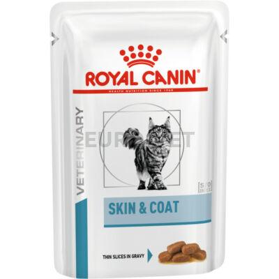 Royal Canin Skin & Coat Cat - nedves gyógytáp felnőtt macskák részére a bőr egészsége érdekében 0,085 kg