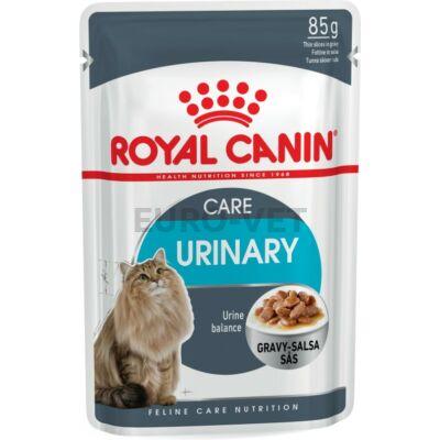 ROYAL CANIN URINARY CARE - szószos nedves táp felnőtt macskák részére az alsó hugyúti problémák megelőzéséért 0,085 kg