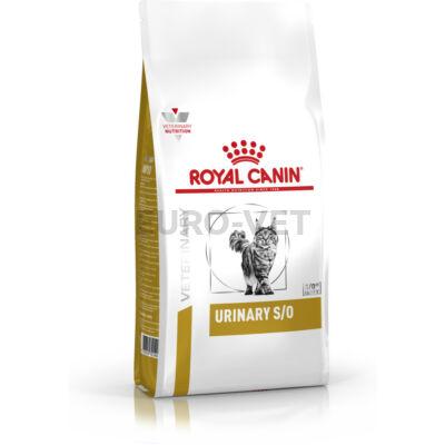Royal Canin Urinary S/O LP 34 - száraz gyógytáp felnőtt macskák részére az alsó hugyúti problémák megelőzéséért 9 kg