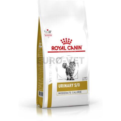Royal Canin Urinary S/O Moderate Calorie UMC 34 - száraz gyógytáp felnőtt macskák részére az alsó hugyúti problémák megelőzéséért, mérsékelt kalóriatartalommal 0,4 kg