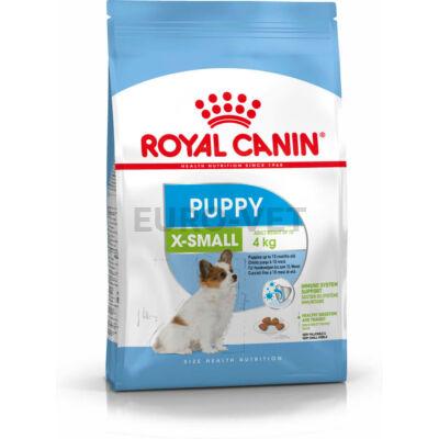 ROYAL CANIN X-SMALL PUPPY - nagyon kistestű kölyök kutya száraz táp 3 kg