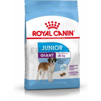 ROYAL CANIN GIANT JUNIOR -  óriás testű kölyök kutya száraz táp 15 kg