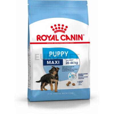 ROYAL CANIN MAXI PUPPY - nagytestű kölyök kutya száraz táp 15 kg