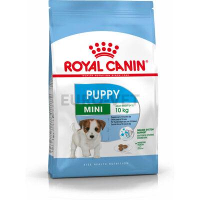 ROYAL CANIN MINI PUPPY - kistestű kölyök kutya száraz táp 8 kg