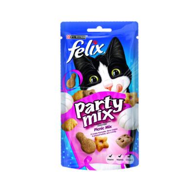 FELIX PARTY MIX Picnic Mix macska jutalomfalat 60g