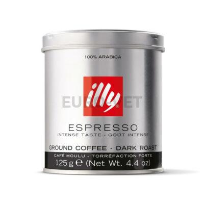 Illy Espresso darált Decaffeinated kávé (koffeinmentes, zöld) 125 g