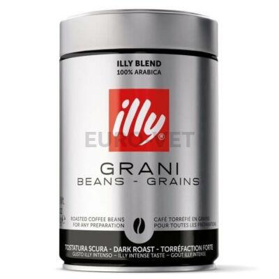 Illy szemes GRANI Dark Roast kávé (sötét, barna) 250 g