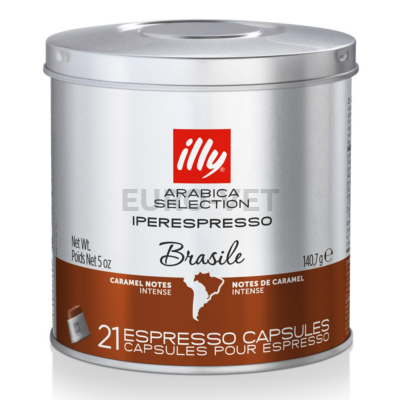 Illy IperEspresso MonoArabica Brazil kapszulás kávé (sötétbarna) 21 adag